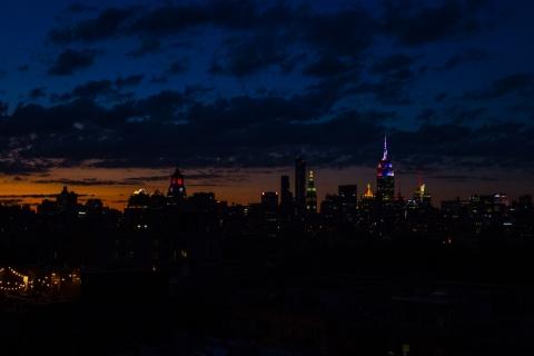Manhattan-Skyline-Blue-Orange